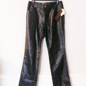 Margaret Godfrey Black Leather
